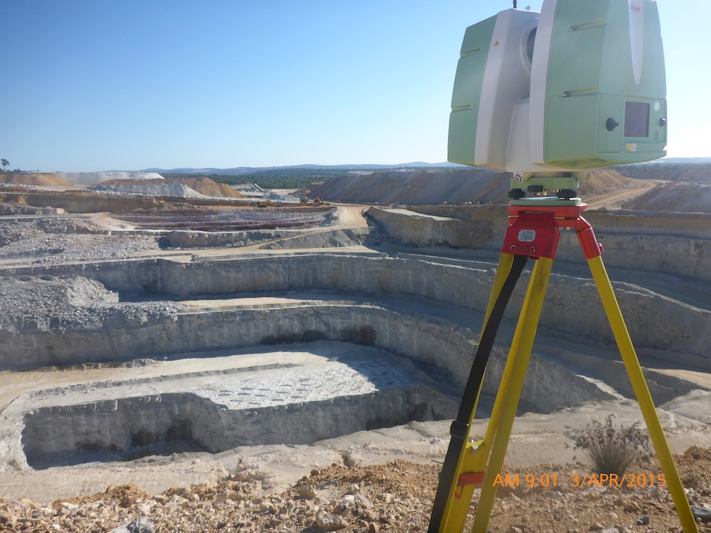 BGC Lakes Quarry Project, 3D scanning of pit - Automated Surveys